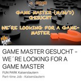 Game Master Needed! in Ramstein, Germany