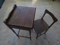 Vintage Child's Desk and Chair in Joliet, Illinois