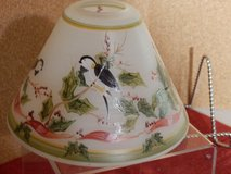 Bird and Holly Candle Shade in Chicago, Illinois