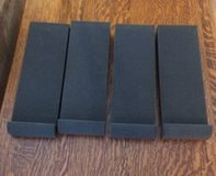 4 Pieces Studio Monitor Acoustic Isolation Pads Dampening Recoil Stabilizer Speaker Risers in Cary, North Carolina