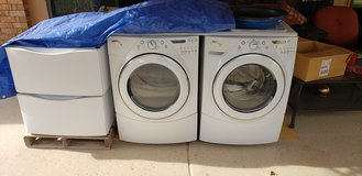 Whirlpool Duet Washer and Dryer *REDUCED* in Alamogordo, New Mexico