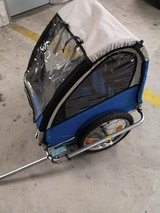 Bicycle trailer for 1 child almost new in Wiesbaden, GE