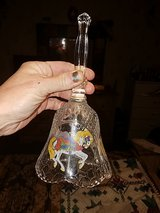 "Beautiful ""Glass Crystal Bell, Real Crystal in Pearland, Texas"