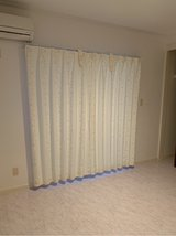curtains w/ adjustable hooks in Okinawa, Japan