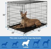 "Frisco Fold & Carry Single Door Dog Crate 42""  Brand new in Joliet, Illinois"