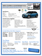 MORE Savings on new MINI Countryman Cooper S in Spangdahlem, Germany
