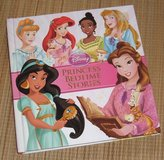 Disney Princess Bedtime Stories THICK 312 Page Hard Cover Book Age 3+ Grade Preschool+ in Oswego, Illinois