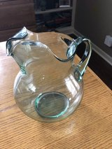 Glass Pitcher with Green Tint in Bolingbrook, Illinois