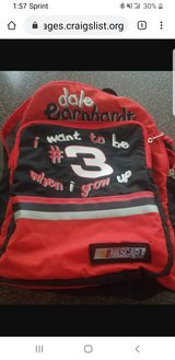 Kids backpack dale earnhardt #3 in Westmont, Illinois