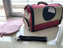 Airline approved soft pet carrier in Okinawa, Japan