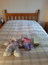 USED DOUBLE BED FRAME NO MATTRESS in Lakenheath, UK