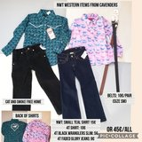 4t girls western clothes in Ramstein, Germany