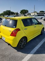 2010 Suzuki Swift in Okinawa, Japan