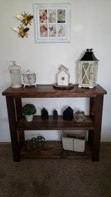 Rustic Farmhouse Console Buffet Table in Camp Pendleton, California