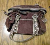 Brown Suede Purse in Glendale Heights, Illinois