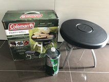 Coleman Party Propane Grill & propane in Okinawa, Japan