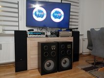 Huge Speakers Made in USA in Wiesbaden, GE