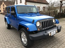 2014 Jeep Wrangler Unlimited Sport 4X4 *OSCAR MIKE EDITION* in Ramstein, Germany