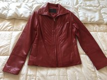 Leather jacket for women size S in Ramstein, Germany