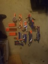 Large Nerf Gun Collection in Cherry Point, North Carolina
