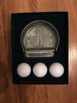 3 Golf Balls and Practice Putter in Westmont, Illinois