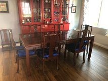 Rosewood Table and 6 Chairs in Camp Pendleton, California