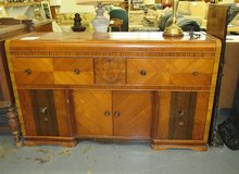 Art Deco Waterfall Buffet (needs some TLC) in Westmont, Illinois