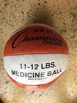 Four Champion Sports 11-12lbs Medicine Balls in Kingwood, Texas