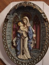 Gracious Mother of Love 3D Collector Plate in Glendale Heights, Illinois
