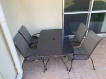 Patio  table w/ 4 chairs in Okinawa, Japan