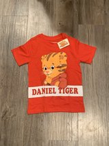 BRAND NEW WITH TAG - Daniel Tiger 5T Short Sleeve Shirt in St. Charles, Illinois