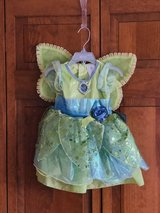 NEW WITH TAG - Disney Baby Tinkerbell Deluxe Dress Up Costume With Wings. Size 18-24 months in St. Charles, Illinois