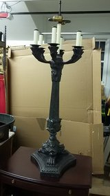 Maitland-Smith bronze lamp in St. Charles, Illinois