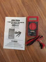 Cen-Tech 7 Function Digital Multimeter in Cary, North Carolina