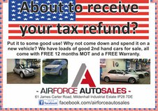 Tax Refund Due? in Lakenheath, UK