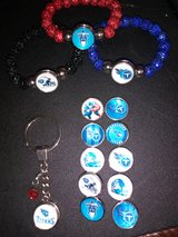 Titans bracelets and keychains in Fort Campbell, Kentucky