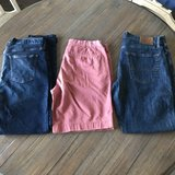 Men's size 34 J. Crew shorts & Lucky Brand & Old Navy jeans in Warner Robins, Georgia