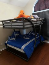 Double on double bunk beds in Warner Robins, Georgia