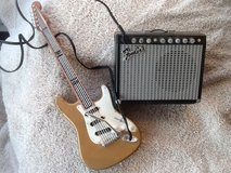 1996 Fender Guitar & Amp toy amp in Batavia, Illinois