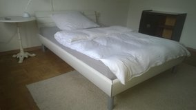 bed with mattress in Stuttgart, GE