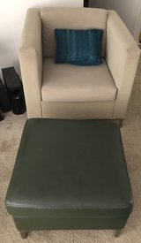 Club chair with ottoman in Warner Robins, Georgia