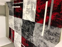 Carpet 3 meters by 4 meters red and gray new condition in Wiesbaden, GE