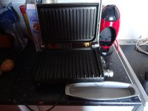 George Foreman cooking grill in Lakenheath, UK