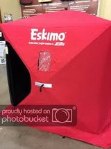 Eskimo 2 Quickfish 2 Insulate Pop-Up Ice Fishing Shanty in Chicago, Illinois
