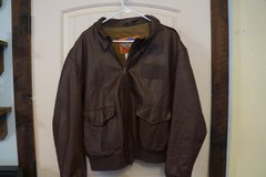 Vintage Cooper A-2 Goatskin Flight Bomber Jacket USAF Sz 48R in Fort Leonard Wood, Missouri