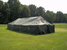 Army Tent in Fort Leonard Wood, Missouri