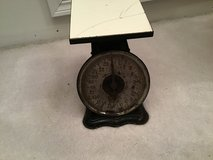 Antique scale in Sandwich, Illinois
