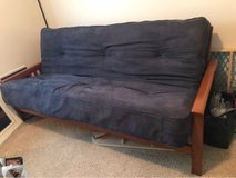 futon with solid wood frame in Camp Lejeune, North Carolina