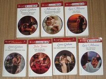 Vintage Lot of 7 Harlequin Romance Novels Soft Cover Books $2 for All in Plainfield, Illinois
