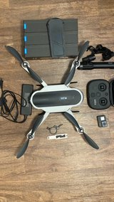 GoPro Karma Drone with Karma Grip, Hero 5 with 4 Extra Batteries in Okinawa, Japan